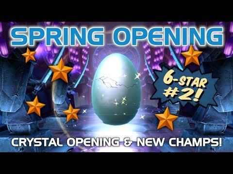 Alliance War Season 1 Rewards (2nd 6-Star Hero Crystal) Opening | Marvel Contest of Champions