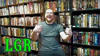 LGR - New Big Box PC Game Shelves! [time-lapse]