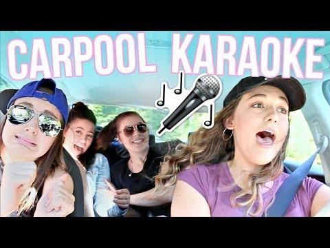 HUGE LIT CARPOOL KARAOKE!! DRIVE WITH ME AND MY FRIENDS!