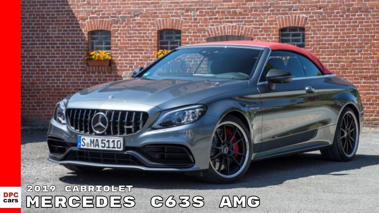 2019 Mercedes C63 S Amg Cabriolet Video