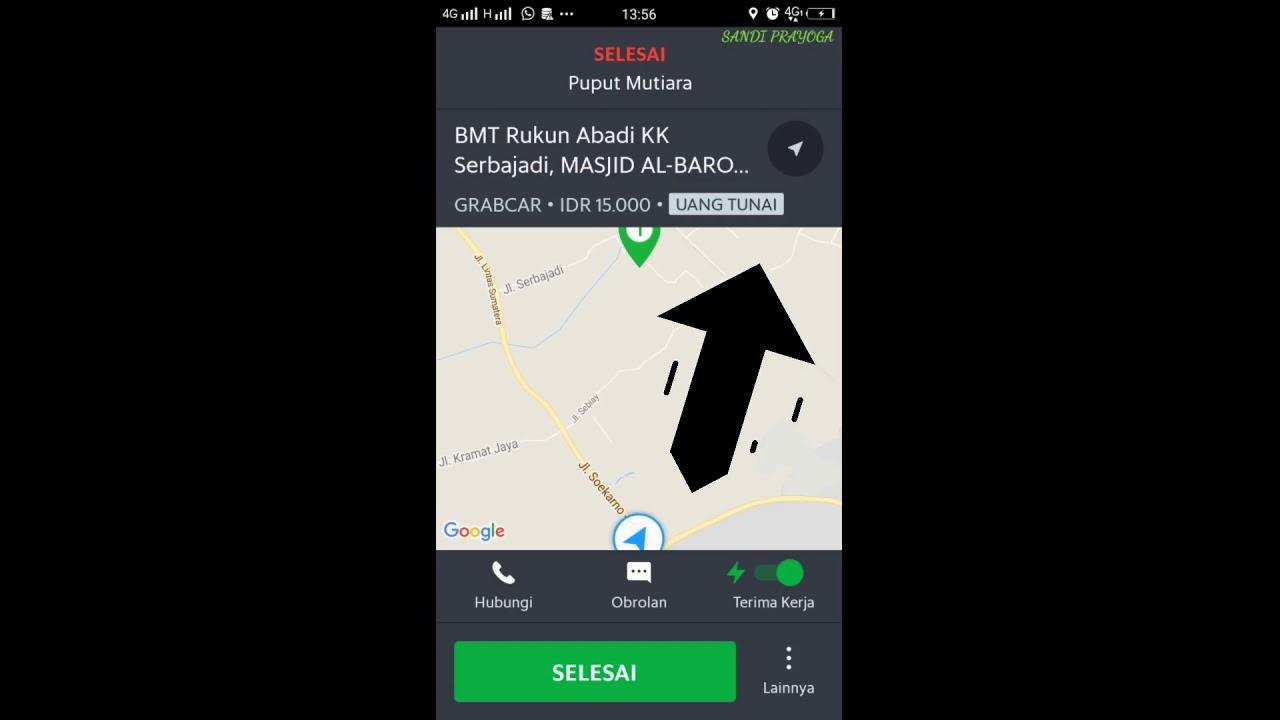 cara menggunakan aplikasi grab driver terbaru
