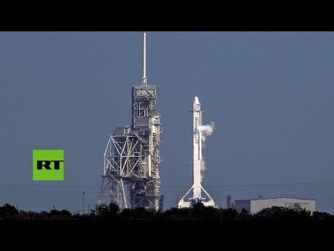 SpaceX lanza el primer cohete reciclado para la NASA