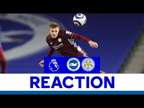 'A Very Important Win!' - Timothy Castagne   Brighton & Hove Albion 1 Leicester City 2