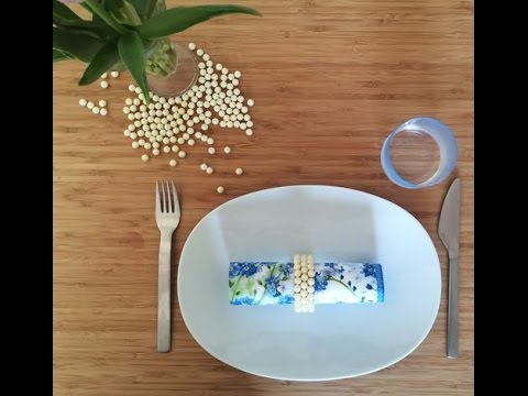 Don't Toss That Toilet Paper Roll! Make A Chic Dinner Party Accessory