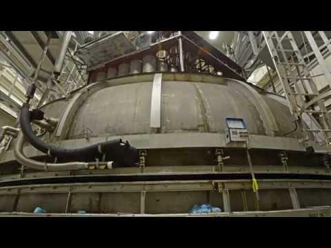 Time-lapse: NASA Goddard Space Environment Simulator Opening and Closing
