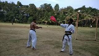 Kyokushin training. By Sensei Ankur Dey (Empowerment Academy of Martial Arts) kyokushin India