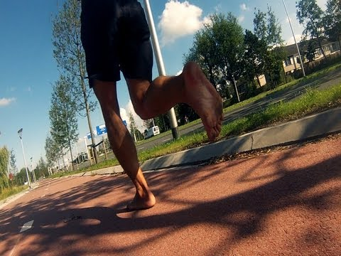 10K Barefoot running in Leeuwarden City
