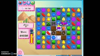 Candy Crush Level 326 Audio Talkthrough, 3 Stars 0 Boosters