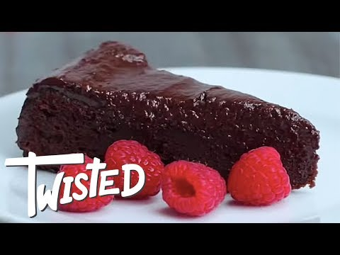 Easy Chocolate Fudge Cake Recipe | Easy Desserts To Make | Best Chocolate Recipes | Twisted