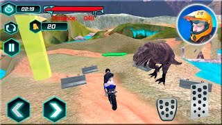 Bike Racing Dino Adventure 3D Game #Dirt Motorbike Racer #Bike Game
