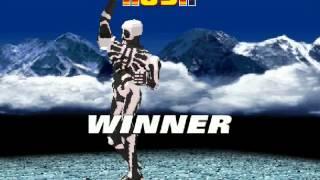 Fighter Maker PSX Skullomania Gameplay