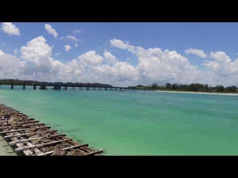 Coquina Beach Drone Footage