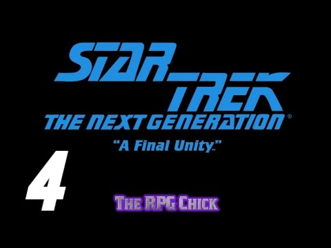 Let's Play Star Trek: TNG - A Final Unity (Blind), Part 4: I Can't Make It Work With That