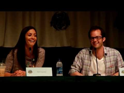2010 Dragon*Con  Q&A with Eureka's Erica Cerra and Neil Grayston