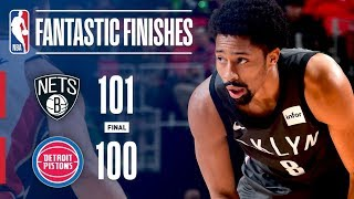 The Nets and Pistons Battle to the Final Seconds in Detroit | January 21, 2018