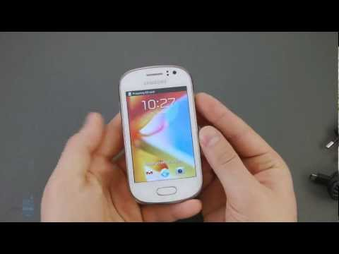 Samsung Galaxy Fame Unboxing