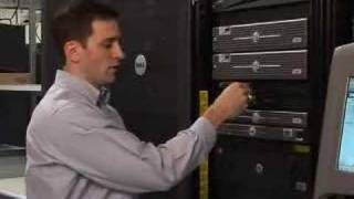 Hot Swapping a Hard Drive in a Rack