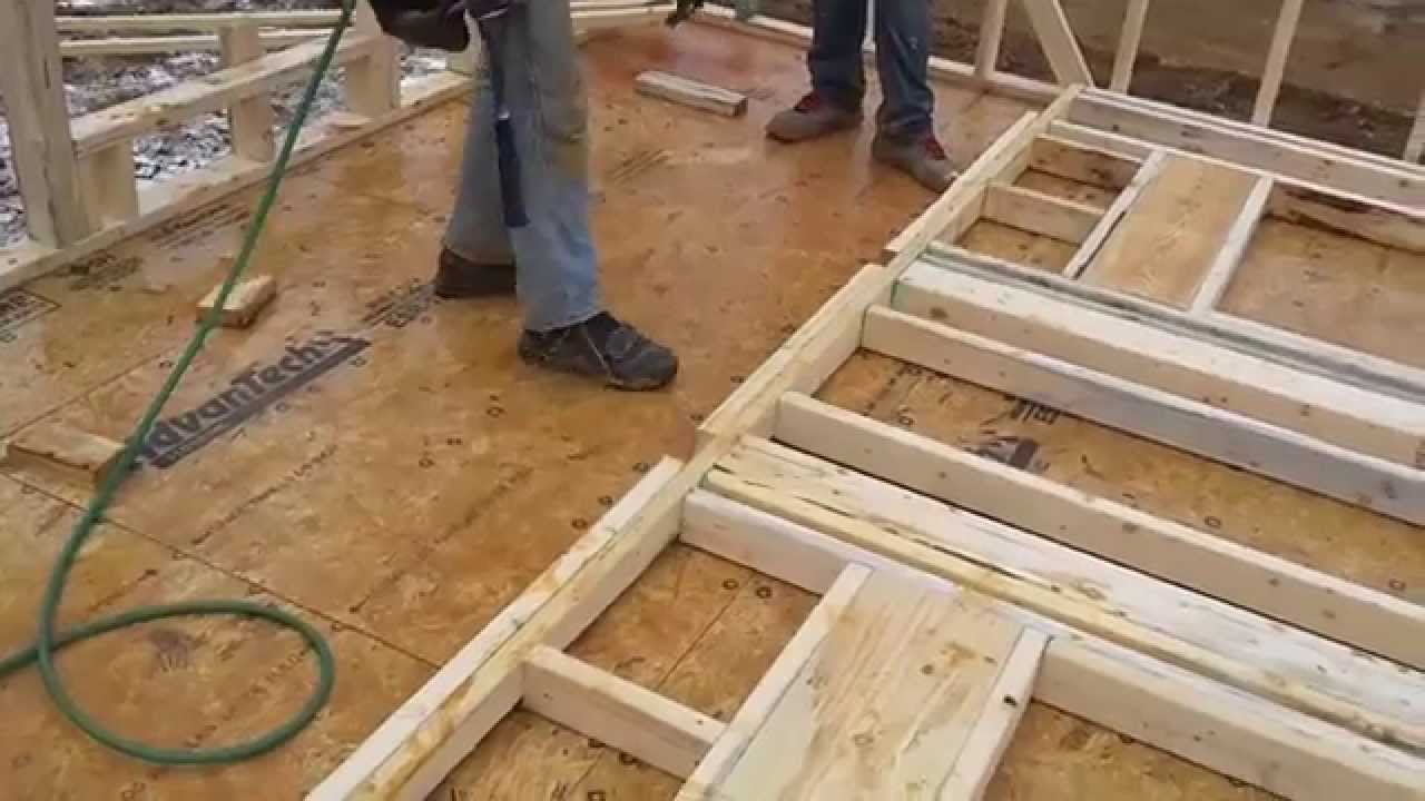 Stick Framing 9 Walls With 7 16 Quot Osb Sheathing Youtube