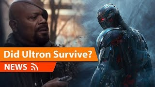 Did Marvel Just Confirm ULTRON Survived in the MCU & More