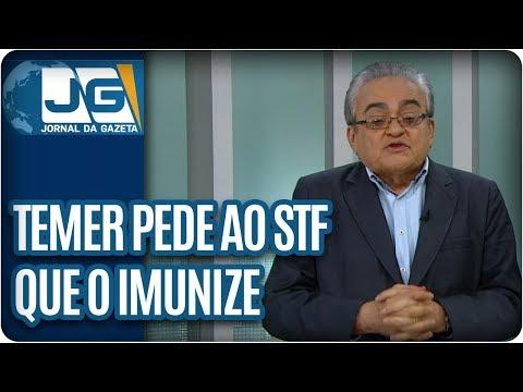 José Nêumanne Pinto/Temer pede ao STF que o imunize dos próprios delitos