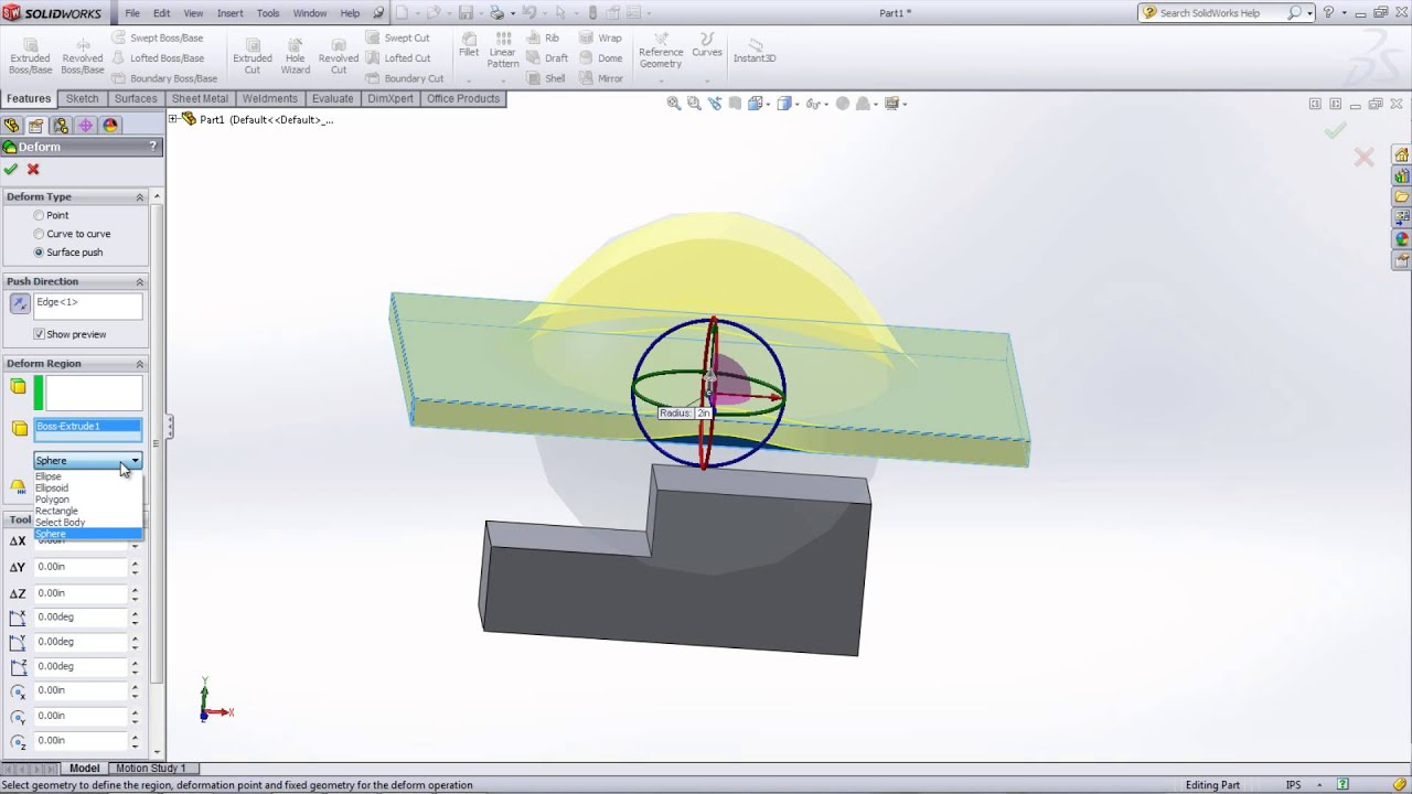 how to make solid from surface in solidworks