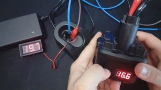 Переделка аккумулятора шуруповерта с Ni-Cd на Li-ion.