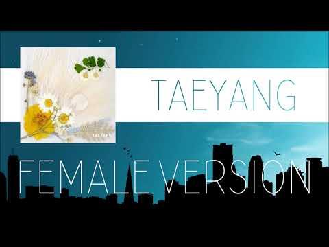 TAEYANG - EMPTY ROAD [FEMALE VERSION]