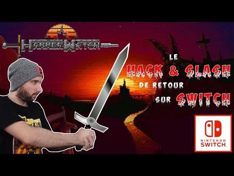 LE RETOUR DU HACK & SLASH SUR SWITCH ! | HAMMERWATCH SWITCH | GAMEPLAY DECOUVERTE FR !