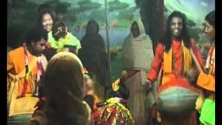 RAS LILA PITCH INVASION 2011 [Bengali Hare Krishna Kirtan Mridanga]