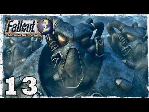 Смотреть прохождение игры Fallout 2. Серия 13 - Призрак и копатель могил.