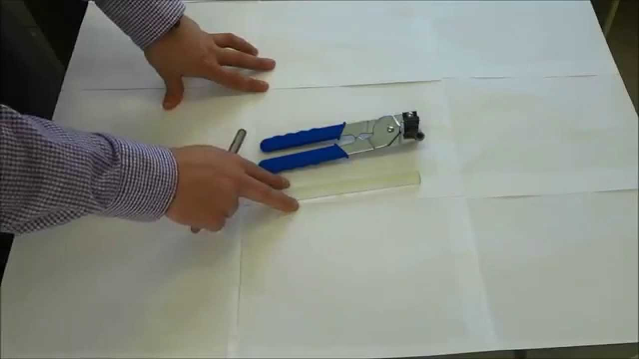 How to cut glass mosaic backsplash tile handheld tile cutter youtube dailygadgetfo Choice Image