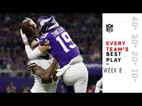Every Team's Best Play from Week 8 | NFL Highlights
