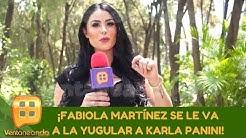 ¡Fabiola Martínez afirma que Karla Panini es mala!   Programa del 20 de mayo de 2020 Ventaneando