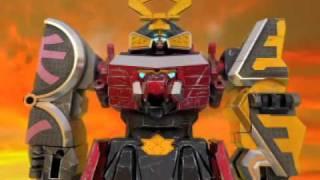 Power Rangers Megazord DX