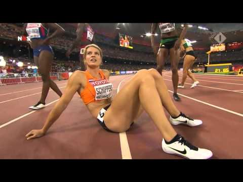 Dafne Schippers 21 63 Final Woman's 200 m World Championschip Atletics 2015