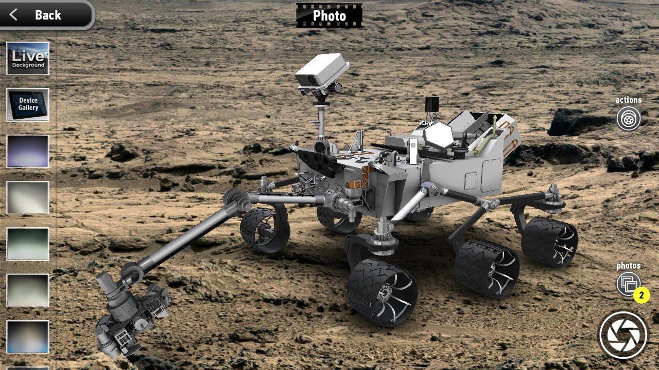 MONZO Curiosity NASAs Mars Rover 3D Model expert mode