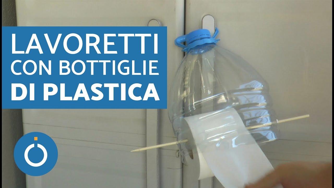 Bricolage Con Bottiglie Di Plastica.Portarotolo Carta Igienica Fai Da Te Lavoretti Con Bottiglie Di Plastica