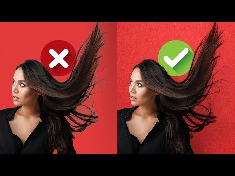 Blend Modes for Realistic Hair Masking in Photoshop! thumbnail