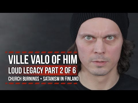 HIM's Ville Valo on Church Burnings  Satanism in Finland