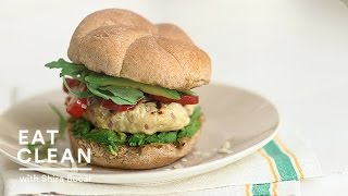 Avocado And Sweet Pepper Turkey Burger Recipe - Eat Clean With Shira Bocar