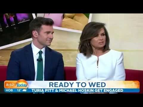 Turia Pitt and fiance share details of...