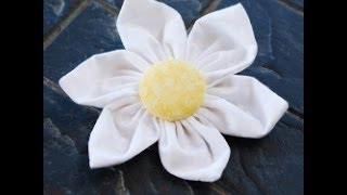 How to Make Fabric Flowers with Felt