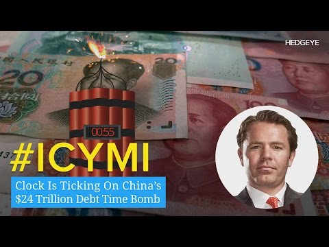 ICYMI: Clock Is Ticking On China's $24 Trillion Debt Time Bomb