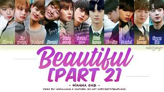 [3.79 MB] WANNA ONE (워너원) – BEAUTIFUL (PART 2 ver.) (Color Coded Lyrics Eng/Rom/Han/가사)