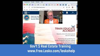 No Downpayment, No Insurance, Cheap Money Forever for Vets...Live Video Training