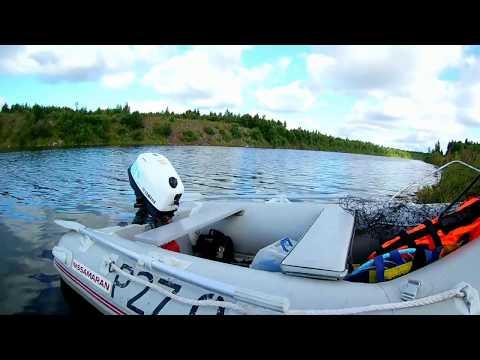 обзор лодки ниссамаран и мотора ямаха F4BMHS (непроливайка)