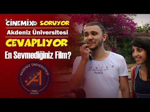 Akdeniz Üniversitesi Sokak Röportajı - En Sevmediğiniz Film? | Cinemix