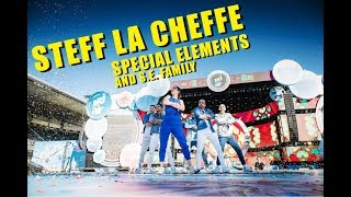 Steff La Cheffe / Special Elements & die S.E. Family am NRJ-Air 2018