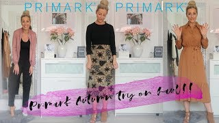Primark Autumn try on haul September 2019! JUST WOW!!!