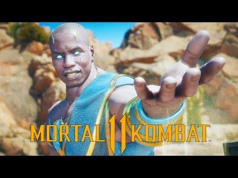 Mortal Kombat  Geras Gameplay vs Scorpion and Raiden